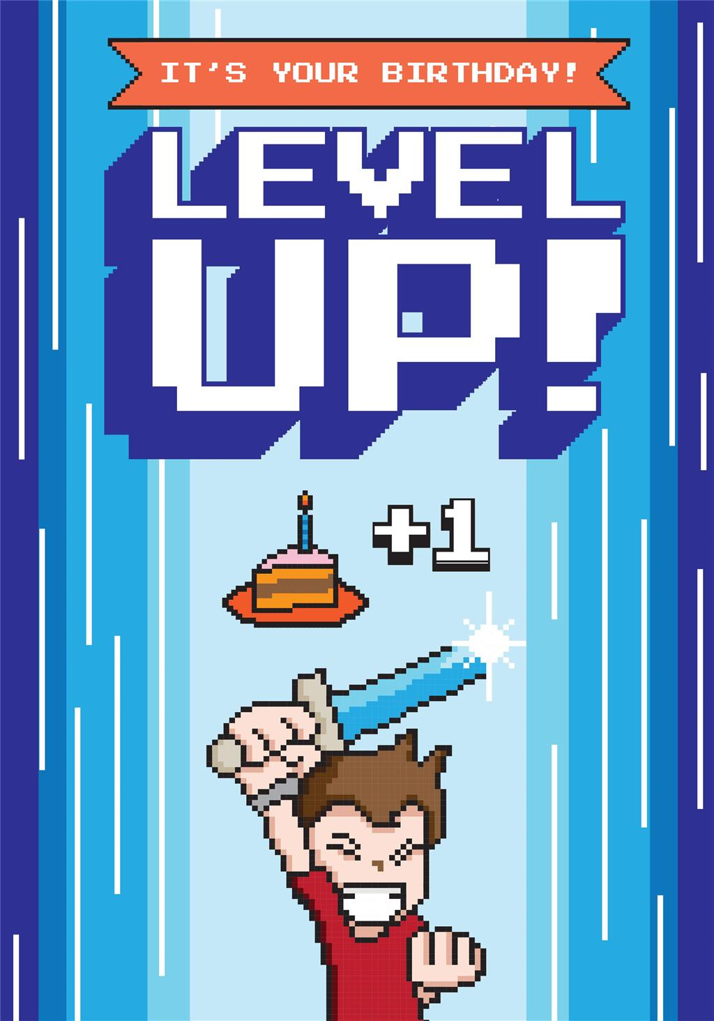 LEVEL UP - BOY BDAY
