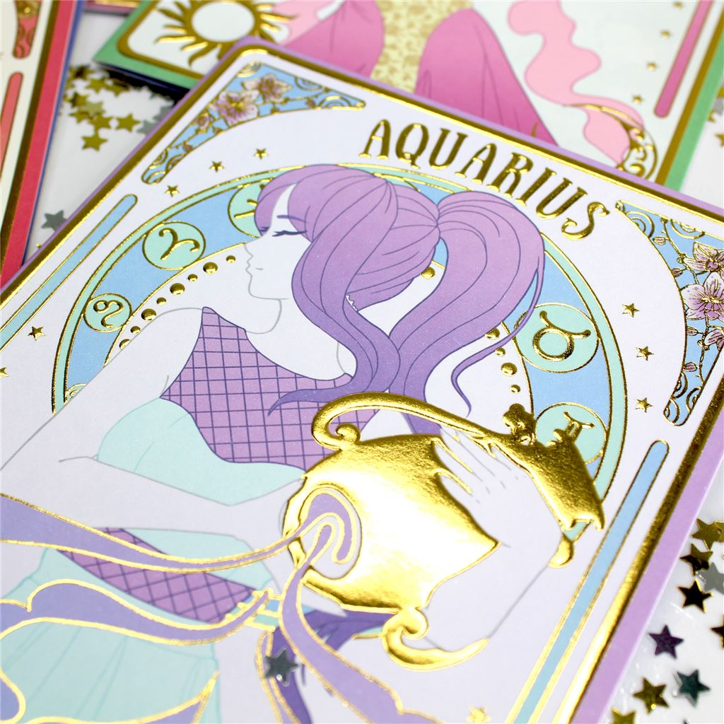 STAR LIGHT CARDS 12 DES x 6